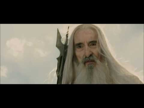 La fin de Saruman - retour du roi