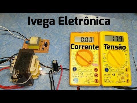 Como ligar um voltímetro e amperímetro na sua fonte