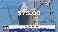 Georgia officials approve completion of nuclear power plant