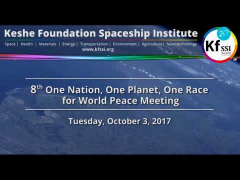 8th One Nation One Planet One Race for World Peace Oct 3 2017