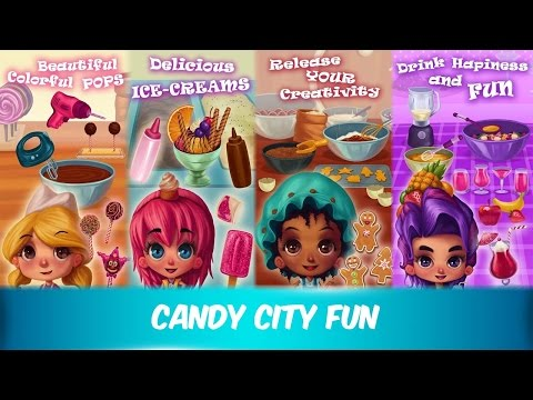 Candy City | Best Games For Kids For Fun | Android iOS gameplay HD