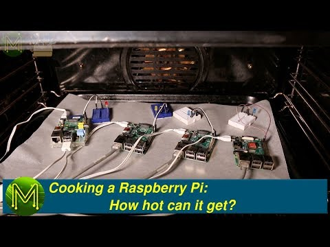 #247 Cooking a Raspberry Pi: How hot can it get?