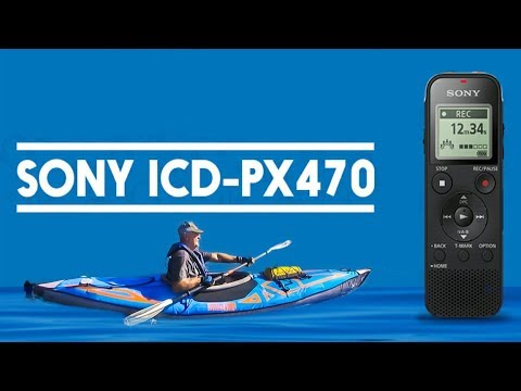 Sony ICD-PX470 Stereo Digital Voice Recorder