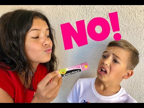 DON'T GET KISSED AT THE PARK! Chapstick TAG!