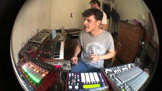 Sweely Home grooves with AKAI MPC 1000/ Elektron Machinedrum / APC 40 / Ableton / Victor