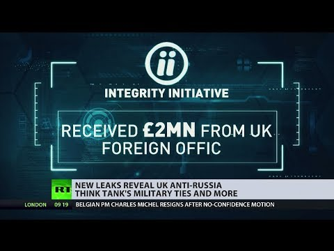 New leaks reveal UK anti-Russia think tank's military ties and more