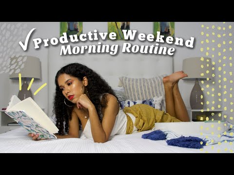 Productive Weekend Morning Routine 2019 thumbnail