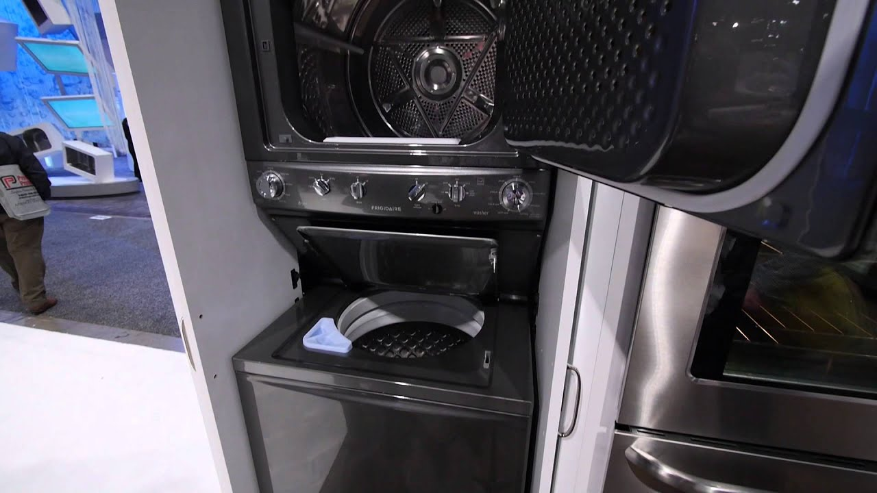 Compact Laundry Options for Your Tiny Apartment - YouTube