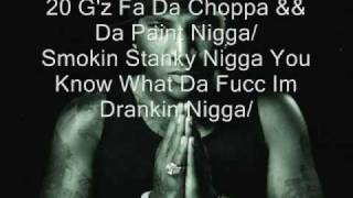 Young Jeezy-Choppa N Da Paint (With Lyrics)