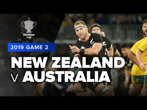 New Zealand V Australia | 2019 Bledisloe Cup Game 2 Highlights