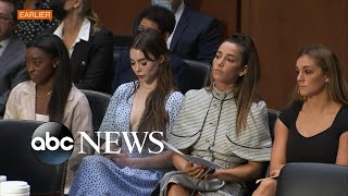 US gymnasts give powerful testimony on FBI's mishandling of sex abuse case