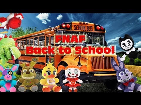 Fnaf Plush-Back to School
