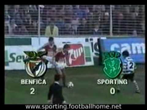 Benfica - 2 Sporting - 0, 1988/1989