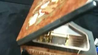 Italy 30notes inlaid wood piano