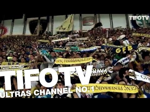 GFB. .. STYLE & CHANT 'ŞAMPİYON' AGAINST MARSEILLE 09/2012 - Ultras Channel No.1