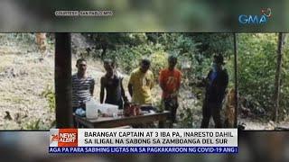 24 Oras News Alert: Barangay captain at 3 iba pa, arestado dahil sa ilegal na sabong