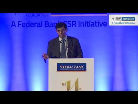 Dr. Raghuram Rajan's speech at the 14th K P Hormis Commemora