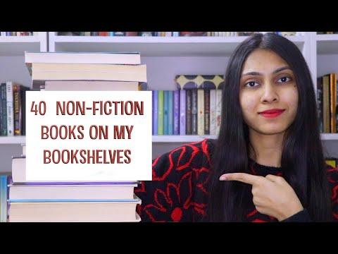 40 NON-FICTION BOOKS ON MY BOOKSHELVES ll PART 1 II Saumya's Bookstation