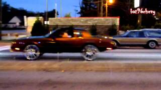 Escalade on DUB 28's, Monte Carlo SS & Outrageous Bubble on 26's, Cutlass Vert on 22's - HD