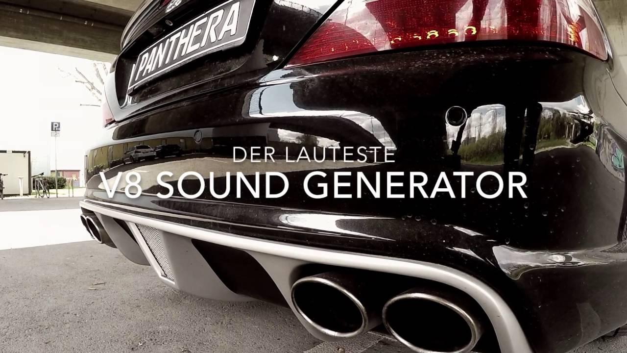 mercedes sl mit v8 sound generator und bodykit youtube. Black Bedroom Furniture Sets. Home Design Ideas