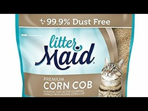 Litter Maid Corn Cob Review Youtube