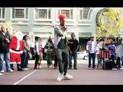 Turf aka Retro (America's Got Talent) Street Performance @ SF Downtown | Funk'd Up TV