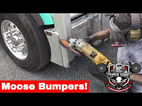 How to polish an aluminum moose bumper
