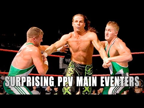 5 surprise WWE main-eventers: 5 Things