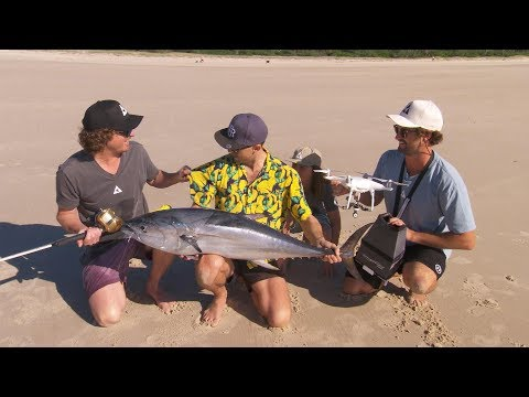 Drone Fishing NSW IFISH
