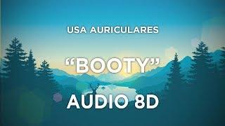 C. Tangana, Becky G - Booty (AUDIO 8D) 🎧
