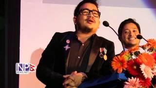 Wilson Bikram Rai Comedy at NFDC National Film Awards 2070