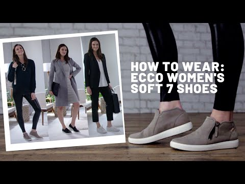 How To Wear | ECCO Women's Soft 7 Shoes