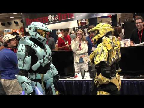 Two Spartans Find Love at San Diego Comic Con 2011