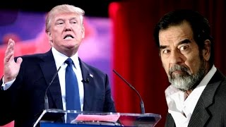 لن تصدق ما قاله رئيس امريكا دونالد ترامب عن صدام حسين