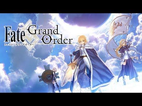 Fate Grand Orderを実況プレイpart1