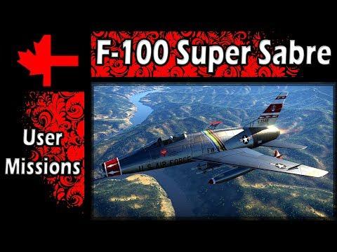 War Thunder - F-100 Super Sabre in Game