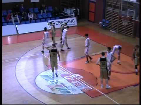 "2016 6'5"" PG Vasilije Janjetovic - 26 Pts vs. Vrsac (2014/15 U19 League of Serbia)"