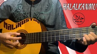 Cover lagu Halalkanmu | Malikustik