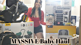 MASSIVE Baby Haul: Stroller, Diaper Bag, & EVERY ESSENTIAL for FIRST TIME MOM