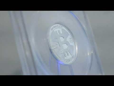 2013 Casascius .1 BTC Silver Coin - Physical Bitcoin Revealed
