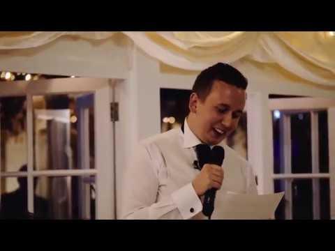 Brother of the Bride's Hilarious Wedding Speech Kills Crowd!
