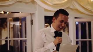 Brother of the Bride's Hilarious Wedding Speech Kills Crowd!