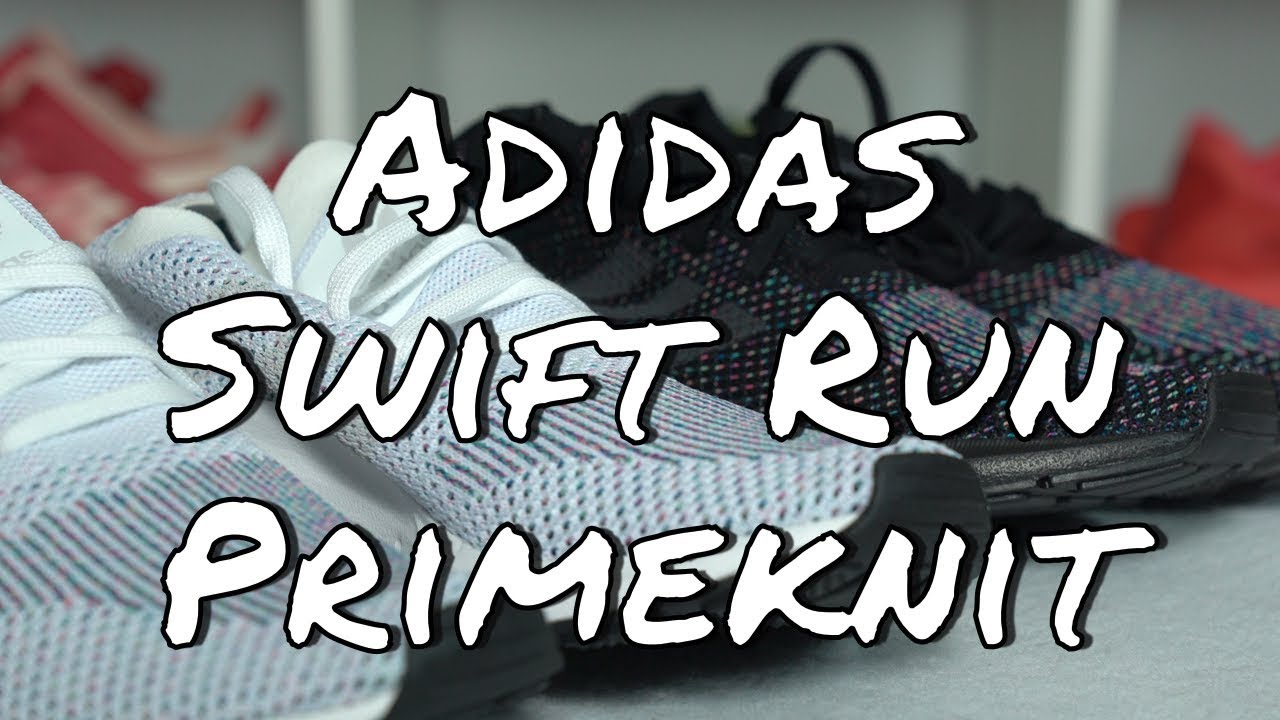 8d2cf58c5 Adidas Swift Run Primeknit Multicolor Pack - YouTube