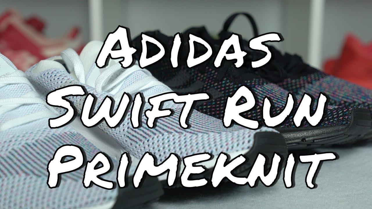0368b1120820 Adidas Swift Run Primeknit Multicolor Pack - YouTube