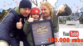 4-year old Tim reaches 100,000 Subscribers! Youtube sent me this Silver Play Button UNBOXING