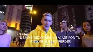 EL CEJAS X OMAR MONTES X HAMZA ZAIDI // DAME UN BESO // CON (LETRA)