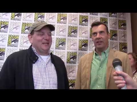 Alfred Gough and Miles Millar at Comic Con 2015