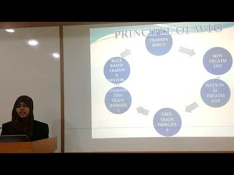 """World Trade Organisation"" by Alima Sumbul TIT-MBA, I Semester"