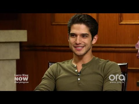 Tyler Posey Has Nothing But Love For Charlie Carver  Larry King Now  Ora.TV