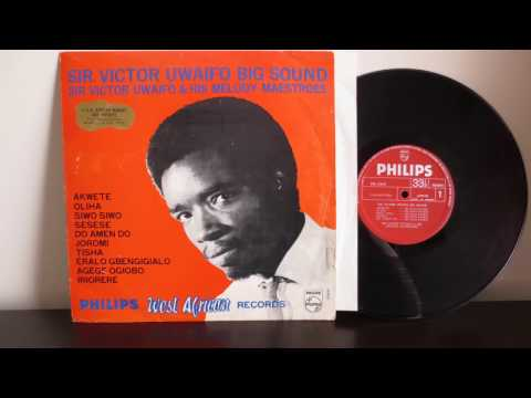 Sir Victor Uwaifo & His Melody Maestroes ‎– Uwaifo Big Sound (1969)
